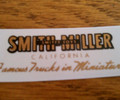 Smith Miller 1947 and after door decal