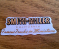 Smith Miller 1947 and after door sticker