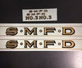 SMFD decals