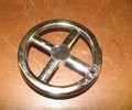 Crank Wheel with hole for brass knob